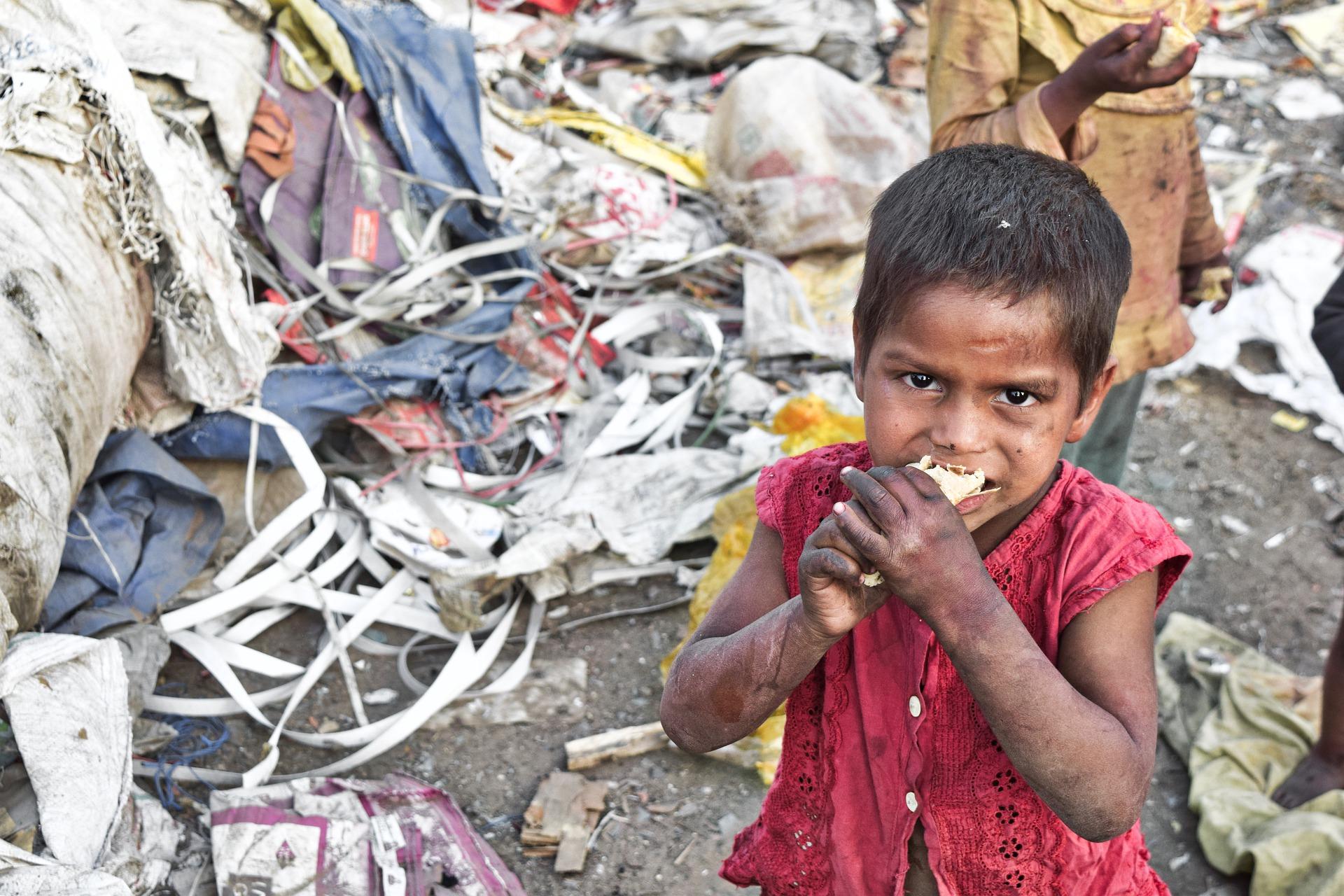 hambre infantil